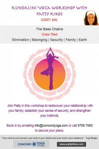 Base Chakra Workshop