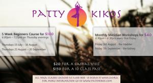 Yoga in Woollahra with Patty Kikos