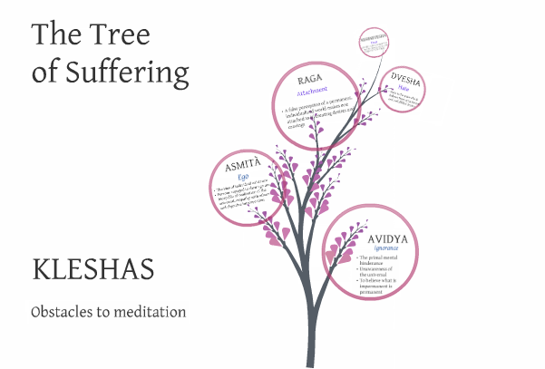 Why do we suffer? The 5 Kleshas