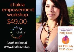 Patty-Kikos-Chakra-Empowerment-Workshop-Paddington