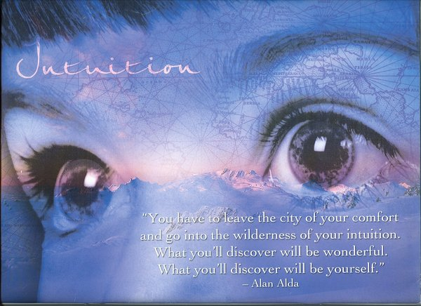 Your intuition, pituitary and third eye chakra
