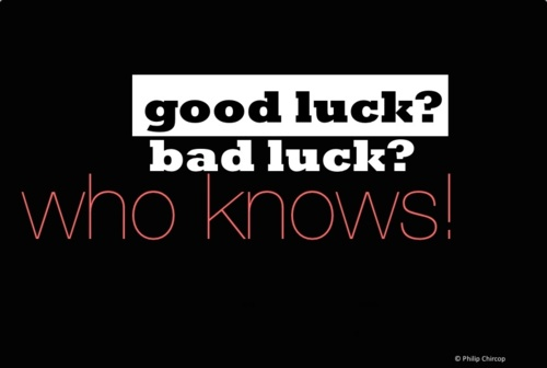 Do You Believe In Good Or Bad Luck Patty Kikos
