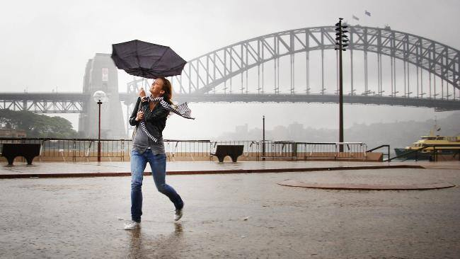 Rain. It doesn't just 'make' you sad.